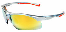Jimarti JM12 Sports Wrap Sunglasses UV400 TR90 Frame Cycling,Coach,Golf,Fish