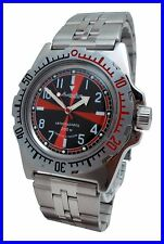 """RADIO ROOM"" AMPHIBIA 200m VOSTOK AUTOMATIC MECHANICAL WATCH !NUOVO! R It"