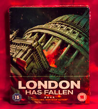 London Has Fallen Collector's Limited Edition Steelbook Blu-ray NEW