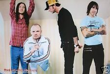 "RED HOT CHILI PEPPERS ""BAND POSING,ANTHONY IN TEENAGE MILLIONAIRE SHIRT"" POSTER"