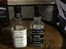Jack Daniels Vintage Rare Discontinued Before & After Bottle Set Empty 🔹🔹