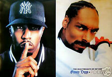 SNOOP DOGG AND P DIDDY PRINT POSTER   -  LARGE SIZE 24x36