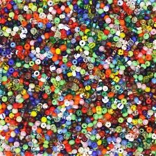 Czech Glass Seed Bead Color Mix One Ounce (1oz) pack Bead Size: 12/0