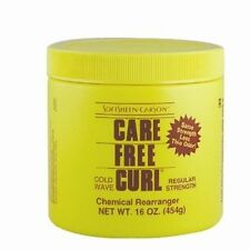 Softsheen Carson Care Free Curl Cold Wave Chemical Rearranger Regular 16oz