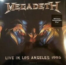MEGADETH 'Live At Great Olympic Auditorium' LP 180 gram vinyl - FACTORY SEALED
