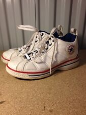 Mens Converse Chuck Chucks Taylor All Star Icon Mid-Tops Leather Size 8 (dd)