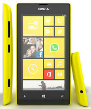 Nokia Lumia 520,8Gb,Yellow,Unlocked Quadband Camera,Wifi,Bluetoothwindows Phone