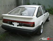 84-87 Toyota Corolla AE86 JDM TRD Style Trunk Spoiler 3DR Hatchback USA CANADA