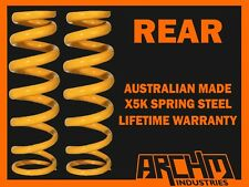 "MITSUBISHI MAGNA TM-TP 1985-92 WAGON REAR""LOW"" 30mm LOWERED COIL SPRINGS"
