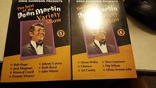 the best of the dean martin variety show volume 5 and volume 6 dvds