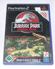 "PS 2 Playstation 2 Spiel "" JURASSIC PARK OPERATION GENESIS """