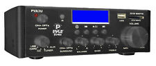 Pyle PVA3U 60W Stereo Hi-Fi Mini iPod Amplifier USB SD MP3 Player Receiver