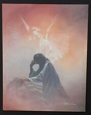 ~ Spiritual ~ 075 Jesus with Angel  ~ Vintage Poster / Print 16 x 20