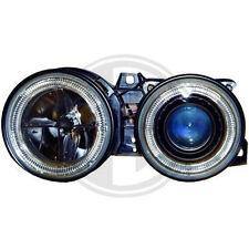 BMW E30 Angel Eyes Scheinwerfer Xenon Optik Linse schwarz Standlicht Ringe zugel
