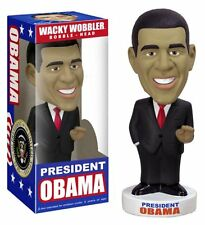 WACKY WOBBLER BOBBLE HEAD FIGURE PRESIDENT OBAMA FUNKO