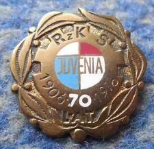 JUVENIA KRAKOW 70 ANNIVERSARY POLAND RUGBY CHESS WEIGHTLIFTING CLUB PIN BADGE