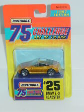 MATCHBOX GOLD CHALLENGE #25 BMW Z-3 ROADSTER