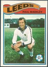 TOPPS 1978 FOOTBALLERS #154-LEEDS UNITED-PAUL MADELEY