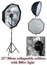 800w Photography Studio Continuous Softbox Lighting Light Stand Diffuser Kit