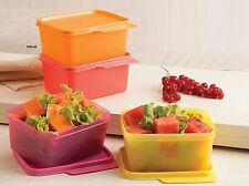 Tupperware Keep Tab Small - Set of 4 Food Storage Containers (500 ml. each)
