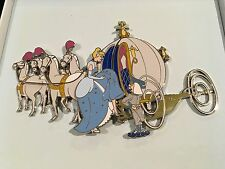 Disney DA Cinderella Horses Carriage Coach jumbo pin LE 100