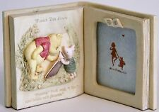 Winnie The Pooh Piglet Open Book 3 Dimensional Picture Frame by Disney Charpente