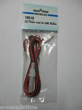 GME UHF 2 Pin DC Power Lead, 2 meters with fuse and fuse holder. For GME UHF CB