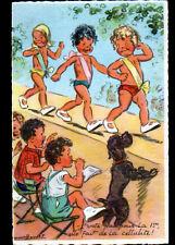 ENFANTS au DEFILE de MODE , illustrée par Germaine BOURET / avec correspondance