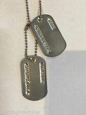 MILITARY DOG TAG HALLOWEEN COSTUME PROP X-MEN X MEN WOLVERINE LOGAN