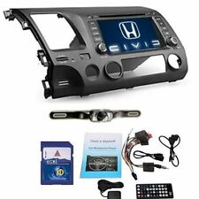 "Honda Civic 2006-2011 7"" inch 2 Din Car DVD Player Stereo TV Touch Screen+Camera"