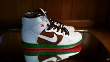 Nike SB Dunk High Premium Cali California Flag Pecan 313171-201 size 10