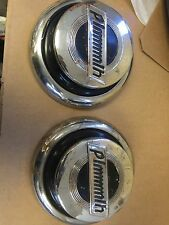 """1931 Plymouth 8"""" Hubcaps Reproductions  Only 2"""