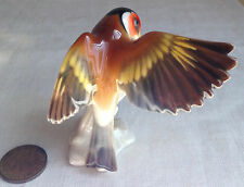 "Lorenz Hutschenreuther Porcelain Bird 2 5/8"" Germany Hand-Painted"