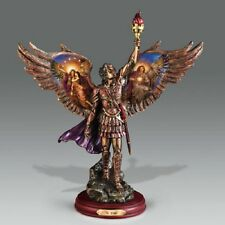 Uriel Protector of Truth Warrior Heavenly Messengers Archangels of Light Bronze