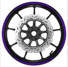 PURPLE Wheel Rim Trim Tape V2 Graduated Stripe fit  Motorcycles, Cars
