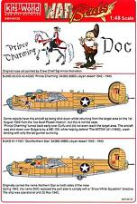 Kits World Decals 1/48 B-24D LIBERATOR Prince Charming & Doc/Northern Star