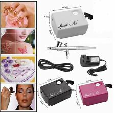 Portable SP16 Air Compressor Suit Airbrush Beauty Makeup Spray Gun Kit Hot Sale