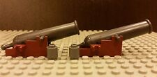 LEGO NEW 2x COMPLETE Cannons For Black Pearl 4184 And Queen Anne's Revenge 4195