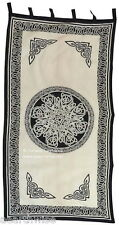 1 X CURTAIN: CELTIC KNOT  Wicca Pagan Witch Goth  Altar Spell
