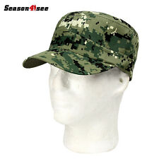 Adjustable Army Plain Hat Cadet Military Baseball Sport Cap Patrol Combat Cap