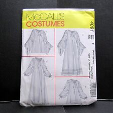 McCalls Costume Renaissance Underdress Chemise Cosplay Sewing Xsm Sm Med