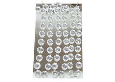 CATENA ACRILICO CM 42 PZ 3 DIAMANTI 1,5 CM ACCESSORI ADDOBBI CERIMONIA WEDDING