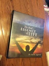 The Real Essence Of Life Anil K Agarwal Workbook And Cd. New In Package.