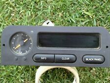 1994-1997 SAAB 900 DASH INFORMATION DISPLAY & CLOCK OEM