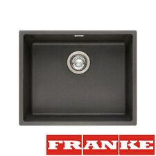 FRANKE SID 110-50 Onyx Tectonite 1 Ciotola Lavello Undermount Pop-Up Rifiuti & Overflow