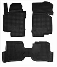 VW GOLF VI 2008-2012 Rubber Car Floor Mats All Weather Alfombras Goma Carmats