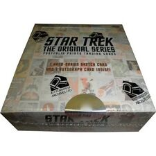 STAR TREK - The Original Series: Portfolio Prints Trading Cards Box #NEW