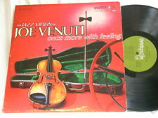JOE VENUTI Once More With Feeling Lou Stein Cliff Leeman Jack Lesberg LP