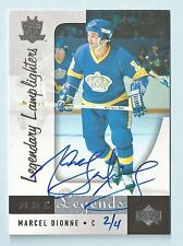 MARCEL DIONNE 2004/05 SP LEGENDARY CUTS BUY BACK AUTOGRAPH AUTO /4