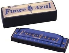 "Hohner 1510BX ""FUEGO AZUL"" Harmonica Key of C Harp - Blowout Sale !"